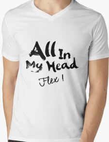 Fifth Harmony - AIMH ( Black Text ) Mens V-Neck T-Shirt
