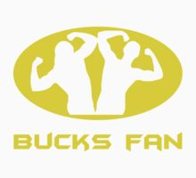 Bucks Fan One Piece - Short Sleeve
