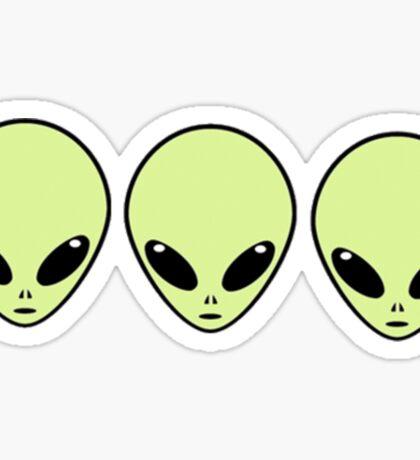 Aliens Sticker