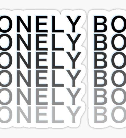 Lonely Boy Sticker