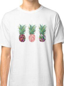 Pineapples rainbow Classic T-Shirt