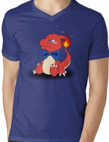 Charming Charmeleon Mens V-Neck T-Shirt