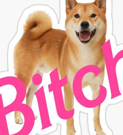 Bitch Shibe Sticker
