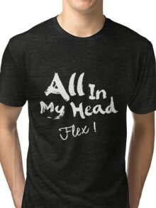 Fifth Harmony - AIMH ( White Text ) Tri-blend T-Shirt