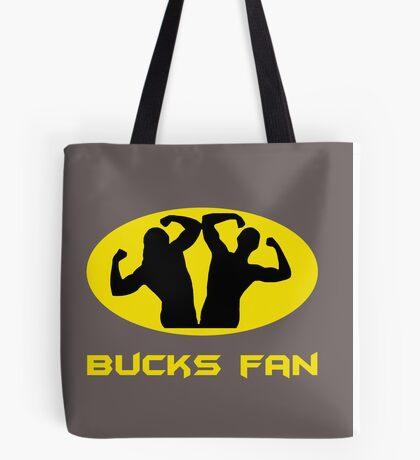 Bucks Fan (Grey) Tote Bag