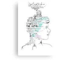 Fandom Mind Canvas Print