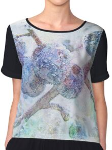 Vibrant Frost 1 with frame Chiffon Top