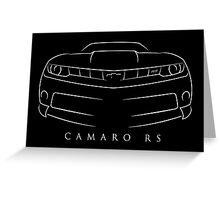 Chevy Camaro RS Greeting Card