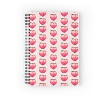 Peach social Spiral Notebook
