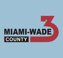 Miami Wade County  Baby Tee