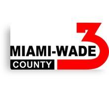 Miami Wade County  Canvas Print