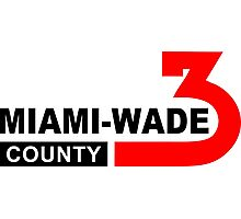 Miami Wade County  Photographic Print