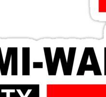 Miami Wade County  Sticker