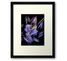 Complementary Shapes Framed Print