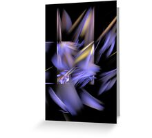 Complementary Shapes Greeting Card