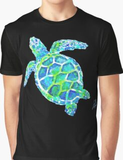 Sea Turtle no splots by Jan Marvin Graphic T-Shirt