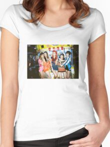 exid street poster Women's Fitted Scoop T-Shirt