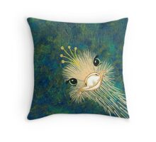 I Wish I Were A Peacock Throw Pillow