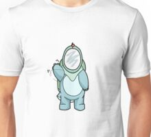 Dino Space Explorer (Waving) Unisex T-Shirt