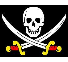 Calico Jack-Pirate flag Photographic Print