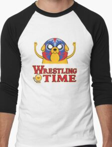 Wrestling Time Men's Baseball ¾ T-Shirt