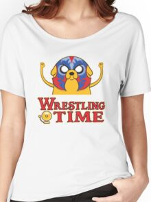 Wrestling Time Women's Relaxed Fit T-Shirt