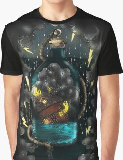 Storm Bottle Graphic T-Shirt