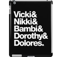 Darling Nikki and Other Muse's in Prince Music iPad Case/Skin
