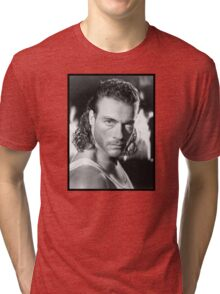 Jean Claude Van Damme Tri-blend T-Shirt