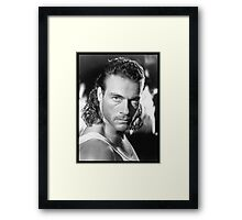 Jean Claude Van Damme Framed Print