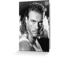 Jean Claude Van Damme Greeting Card