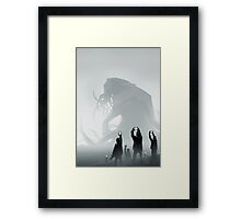 The End lol Framed Print