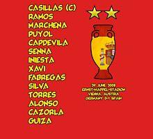 Spain 2008 Euro Winners Unisex T-Shirt