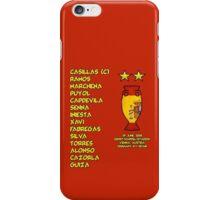 Spain 2008 Euro Winners iPhone Case/Skin