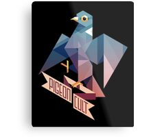 Pigeon Cult Impression métallique