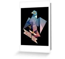 Pigeon Cult Carte de vœux