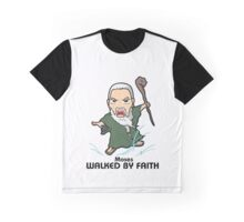 Walked by Faith (Moses) Graphic T-Shirt