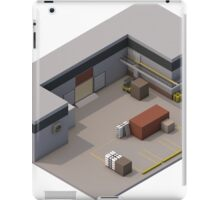 Isometric de_cache iPad Case/Skin