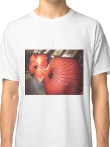 Japanese Umbrellas Classic T-Shirt