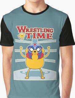 Wrestling time 2 Graphic T-Shirt
