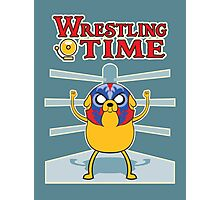 Wrestling time 2 Photographic Print
