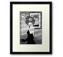 SOUL Noir Framed Print