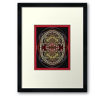 PANSPERMIA HYPOTHESIS 789 Framed Print