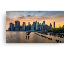 Sunsets from Brooklyn Are the Best Canvas Print