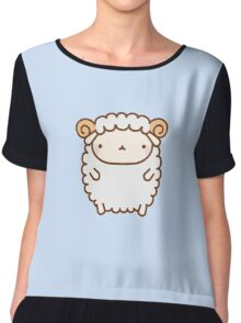 Cute Sheep Chiffon Top