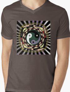TRIPLE YANG MANDALA 24 Mens V-Neck T-Shirt