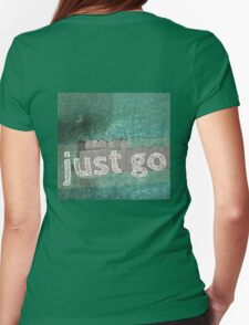 JUST GO Womens Fitted T-Shirt