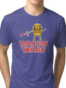 Bacon wars - Jake Tri-blend T-Shirt