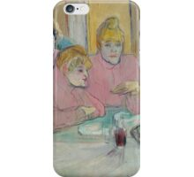 Henri de Toulouse-Lautrec  - These Ladies in the Dining Room (1893–1895) iPhone Case/Skin