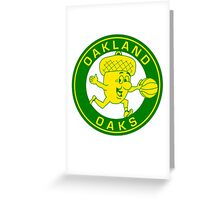 DEFUNCT - OAKLAND OAKS Greeting Card